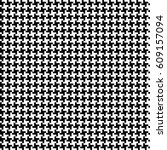 vector seamless checkered black ... | Shutterstock .eps vector #609157094