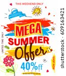 "colorful ""mega summer offer""... 
