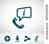 conversation icon   Shutterstock .eps vector #609163439