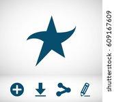 star icon stock vector...