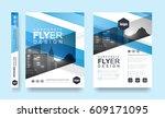poster flyer pamphlet brochure... | Shutterstock .eps vector #609171095