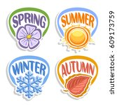 Vector Logo Four Seasons ...