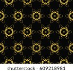 abstract repeat backdrop.... | Shutterstock .eps vector #609218981