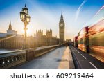 london  england   the iconic... | Shutterstock . vector #609219464