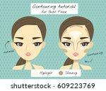 vector illustration of a... | Shutterstock .eps vector #609223769