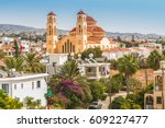 View Of The Town Of Paphos In...