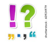 exclamation and question mark... | Shutterstock .eps vector #60924979