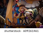 valencia  spain   march 19 ... | Shutterstock . vector #609261461