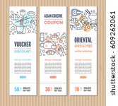 print or web banners design...   Shutterstock .eps vector #609262061