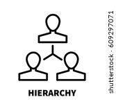 hierarchy icon or logo in...