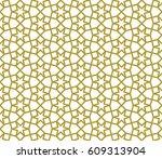 seamless islamic pattern of six ...   Shutterstock .eps vector #609313904