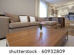 designer studio living room | Shutterstock . vector #60932809