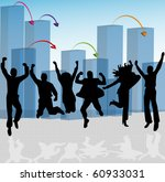 happy people | Shutterstock .eps vector #60933031