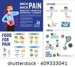 business man suffering from... | Shutterstock .eps vector #609333041