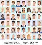 portraits of different people ...