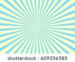 sunny background. rising sun... | Shutterstock .eps vector #609356585