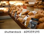 image of a lot of sweet... | Shutterstock . vector #609359195
