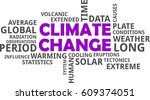 a word cloud of climate change