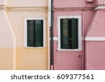 Beautiful Colorful House Facad...