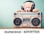 Retro Radio Recorder And Toy...
