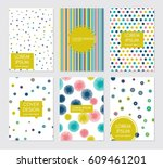 collection of creative...   Shutterstock .eps vector #609461201