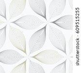 flower pattern vector ... | Shutterstock .eps vector #609515255