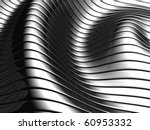 aluminum abstract silver wave... | Shutterstock . vector #60953332
