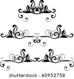 vector design elements | Shutterstock .eps vector #60953758