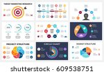 marketing infographic  cycle... | Shutterstock .eps vector #609538751