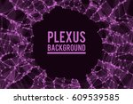 abstract vector illustration.... | Shutterstock .eps vector #609539585