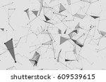 abstract vector illustration.... | Shutterstock .eps vector #609539615