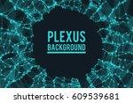 abstract vector illustration.... | Shutterstock .eps vector #609539681