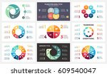 vector circle arrows... | Shutterstock .eps vector #609540047