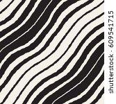 seamless wavy hand drawn... | Shutterstock .eps vector #609541715