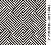 repeating geometric stripes...   Shutterstock .eps vector #609543059