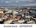 hamburg  germany    aerial... | Shutterstock . vector #609589409