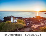 aerial view of elie ness...