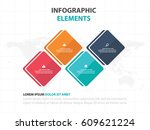 abstract colorful round... | Shutterstock .eps vector #609621224