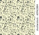 seamless pattern funny cartoon | Shutterstock .eps vector #60962884