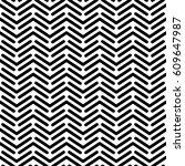 herringbone monochrome seamless ...   Shutterstock .eps vector #609647987