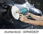 auto body repair series  ... | Shutterstock . vector #609682829