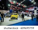 bangkok international motor... | Shutterstock . vector #609695759