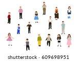vector  illustration ... | Shutterstock .eps vector #609698951