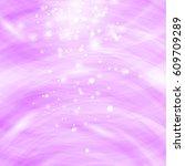 vector pink burst blurred... | Shutterstock .eps vector #609709289
