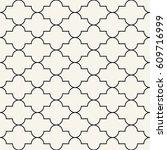 arabic design ornament minimal... | Shutterstock .eps vector #609716999