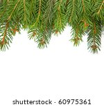 christmas green framework... | Shutterstock . vector #60975361