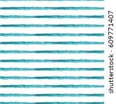 brush stripes watercolor... | Shutterstock . vector #609771407