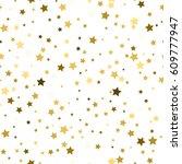 star pattern. white  background ... | Shutterstock .eps vector #609777947