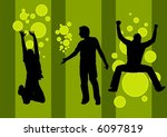 party boys | Shutterstock .eps vector #6097819