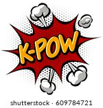 comics book effect. | Shutterstock .eps vector #609784721